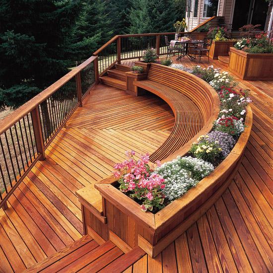 adelaparvu.com despre banci si constructii de lemn in gradina, Foto BHG 6