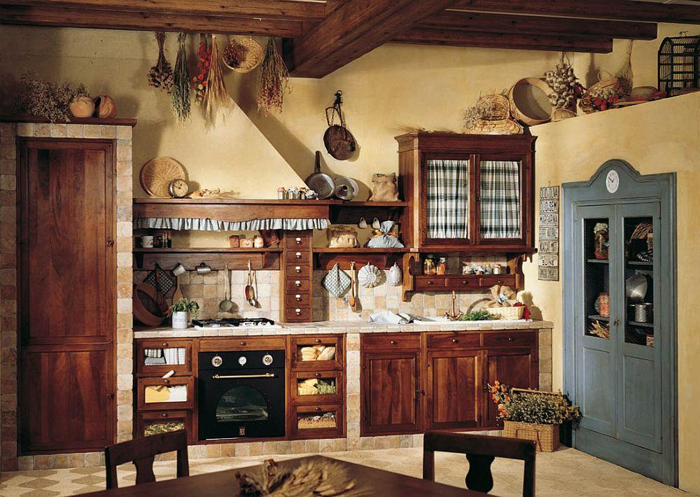 adelaparvu.com despre bucatarii rustice, bucatarii country style, model Doralice, Marchi Cucine (1)