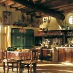 adelaparvu.com despre bucatarii rustice, bucatarii country style, model Doralice, Marchi Cucine (2)