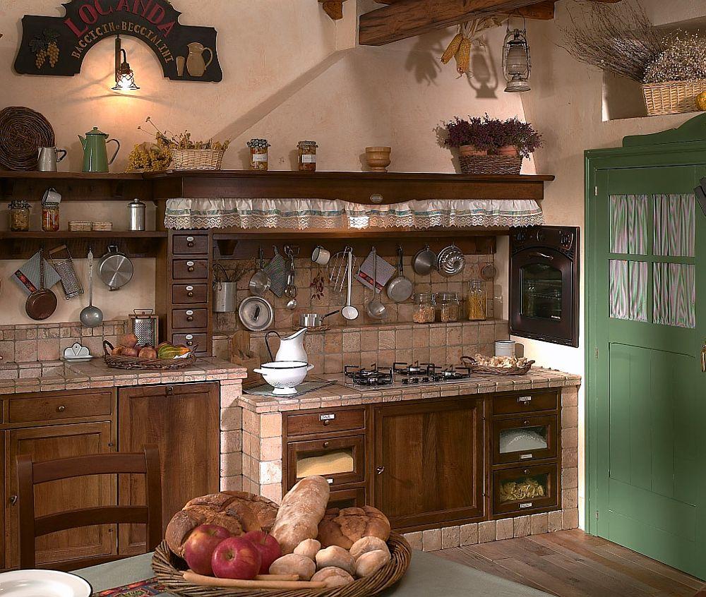 adelaparvu.com despre bucatarii rustice, bucatarii country style, model Doralice, Marchi Cucine (5)