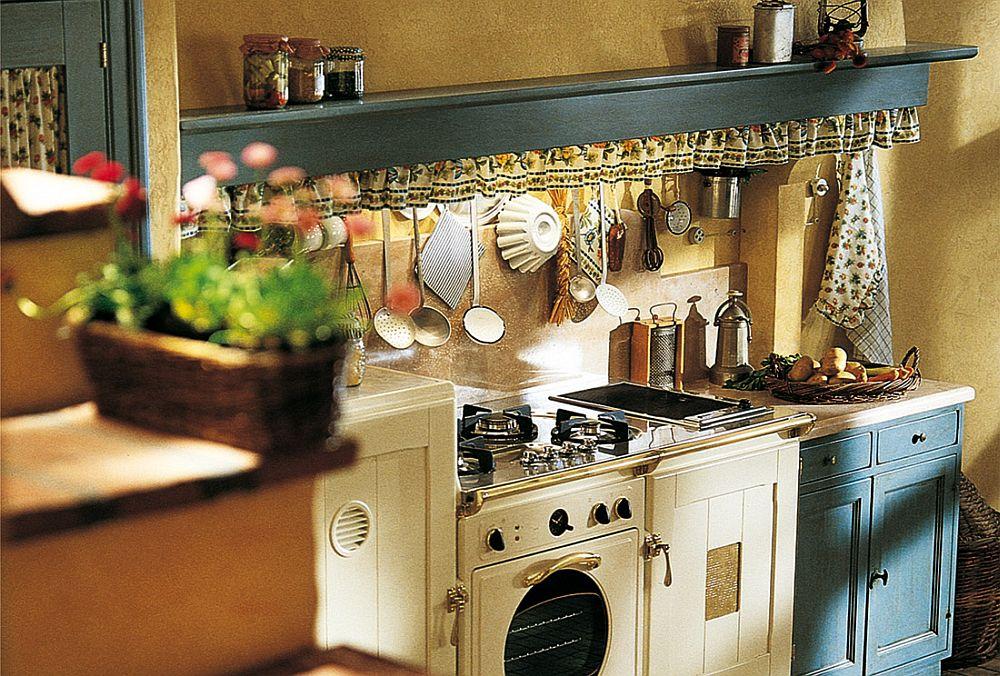 adelaparvu.com despre bucatarii rustice, bucatarii country style, model Doria, Marchi Cucine (3)