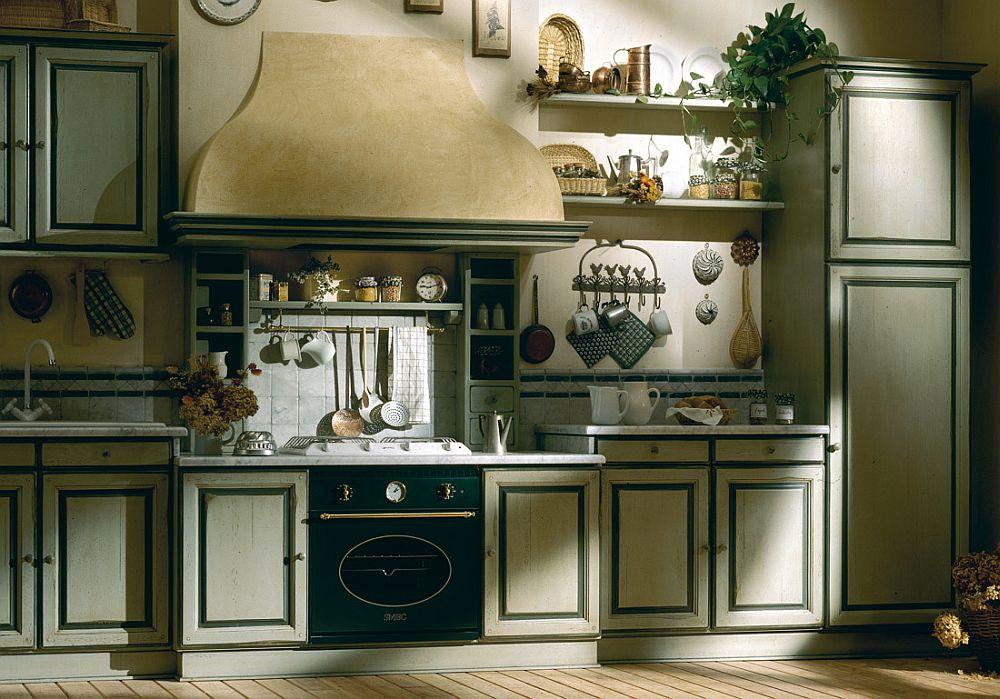 adelaparvu.com despre bucatarii rustice, bucatarii country style, model Granduca, Marchi Cucine (2)