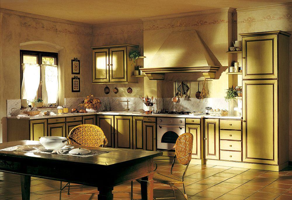 adelaparvu.com despre bucatarii rustice, bucatarii country style, model Granduca, Marchi Cucine (4)