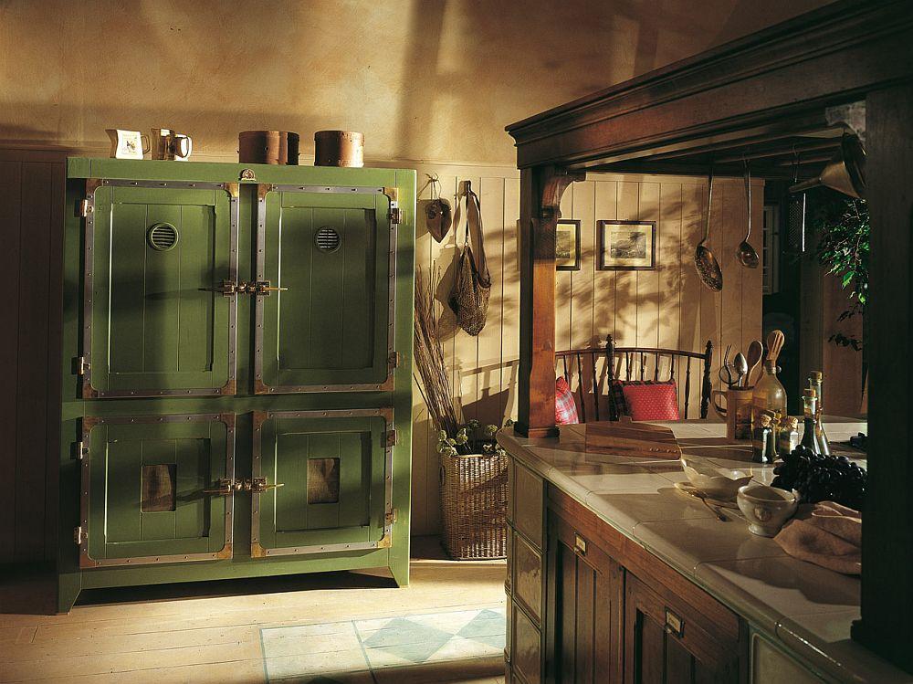 adelaparvu.com despre bucatarii rustice, bucatarii country style, model Hemingway, Marchi Cucine (2)
