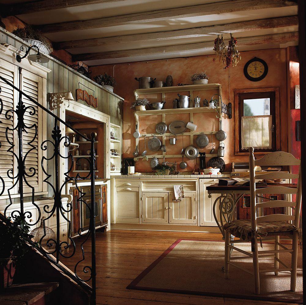 adelaparvu.com despre bucatarii rustice, bucatarii country style, model Incontrada, Marchi Cucine (5)