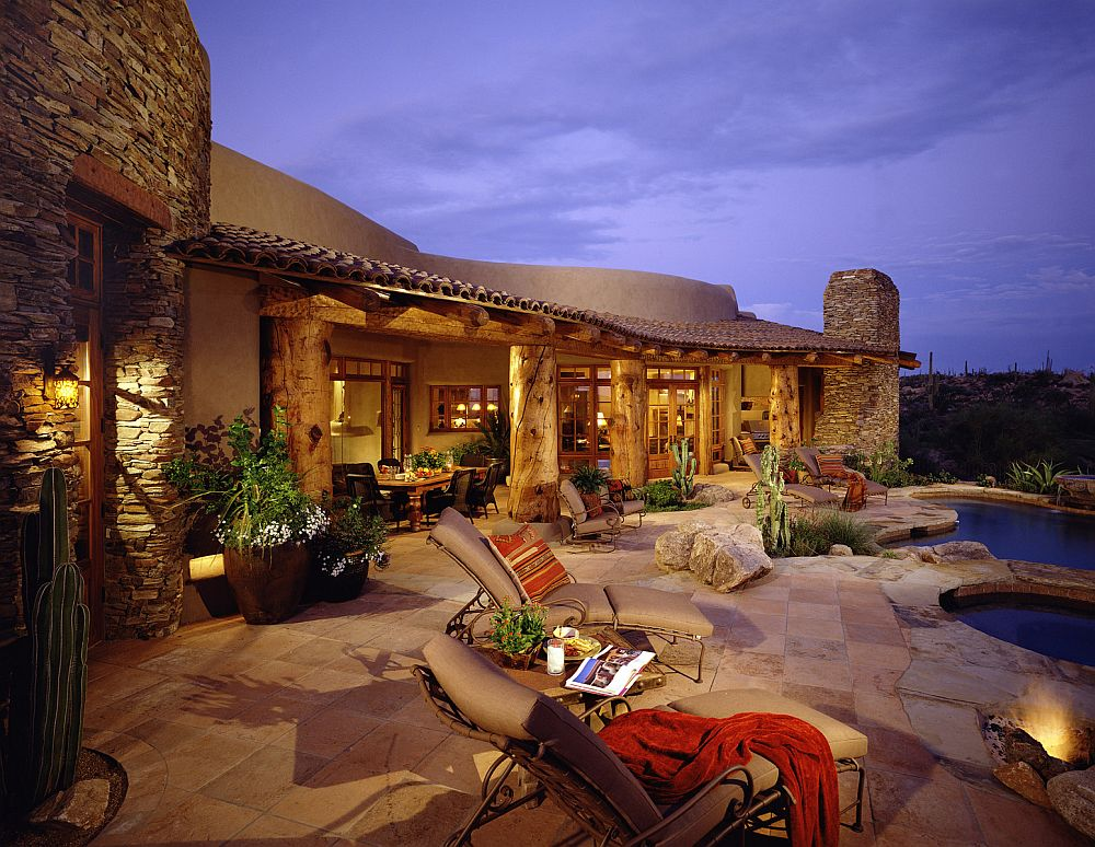 adelaparvu.com despre casa cu arhitectura organica, design Urban Design Associates (1)