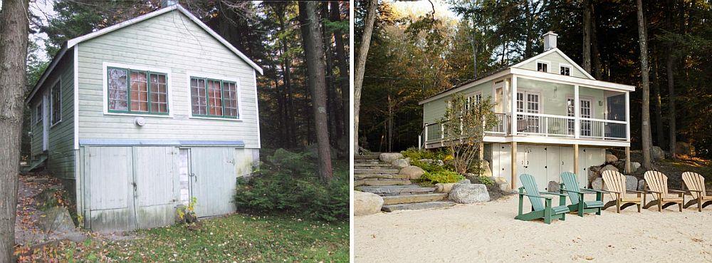 adelaparvu.com despre casa de 46 mp pe malul lacului, arhitect Jeremy Bonin, casa SUA 2