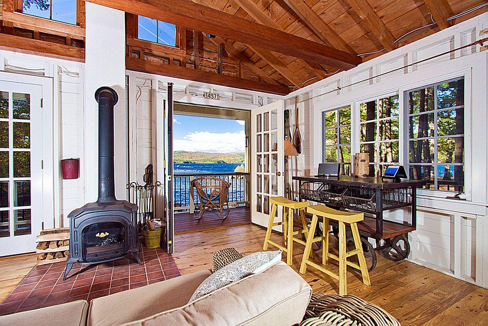 adelaparvu.com despre casa de 46 mp pe malul lacului, arhitect Jeremy Bonin, casa SUA, Foto Great Island Photography (10)