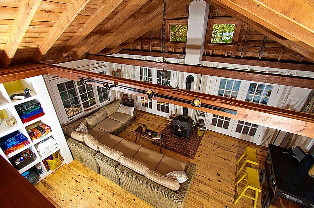 adelaparvu.com despre casa de 46 mp pe malul lacului, arhitect Jeremy Bonin, casa SUA, Foto Great Island Photography (11)