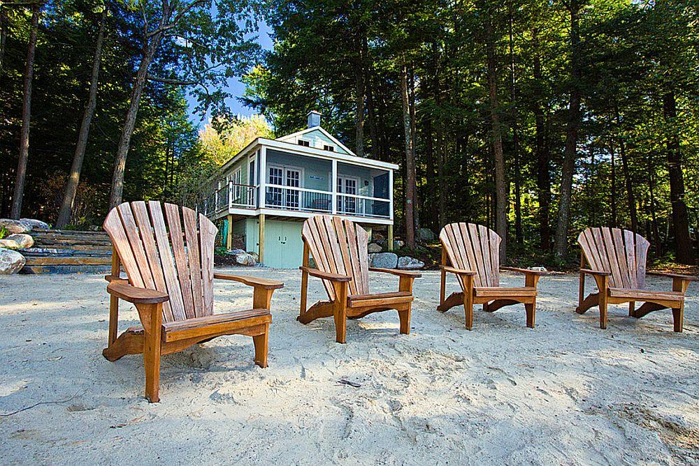 adelaparvu.com despre casa de 46 mp pe malul lacului, arhitect Jeremy Bonin, casa SUA, Foto Great Island Photography (3)