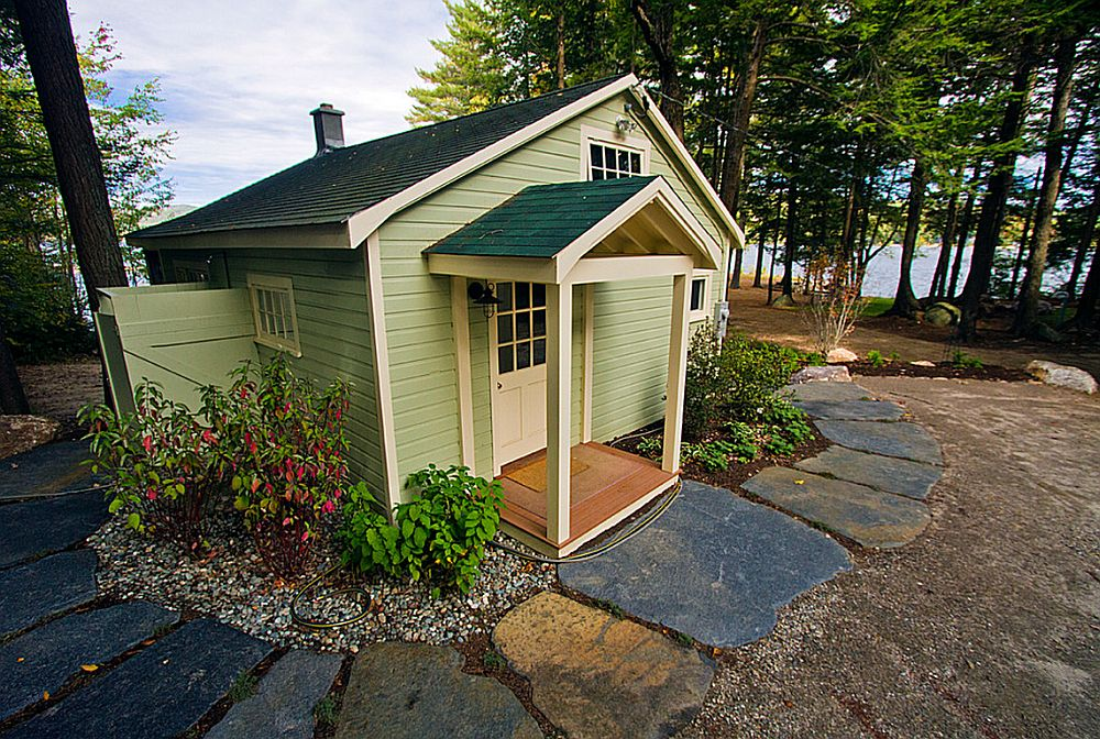 adelaparvu.com despre casa de 46 mp pe malul lacului, arhitect Jeremy Bonin, casa SUA, Foto Great Island Photography (4)