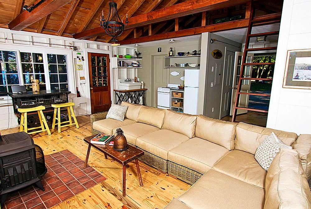 adelaparvu.com despre casa de 46 mp pe malul lacului, arhitect Jeremy Bonin, casa SUA, Foto Great Island Photography (5)