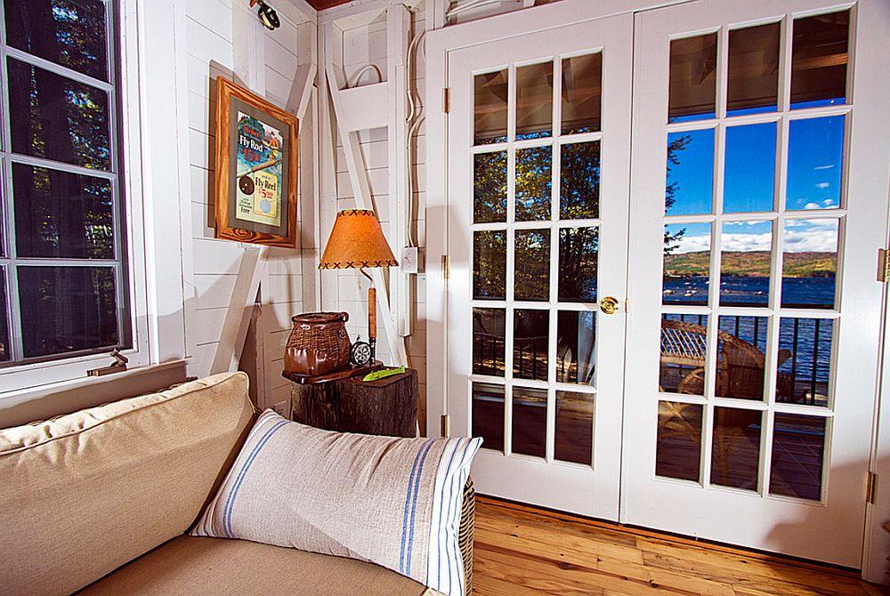 adelaparvu.com despre casa de 46 mp pe malul lacului, arhitect Jeremy Bonin, casa SUA, Foto Great Island Photography (9)