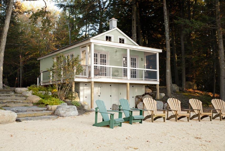 adelaparvu.com despre casa de 46 mp pe malul lacului, arhitect Jeremy Bonin, casa SUA, Foto Max Kim-Bee (1)