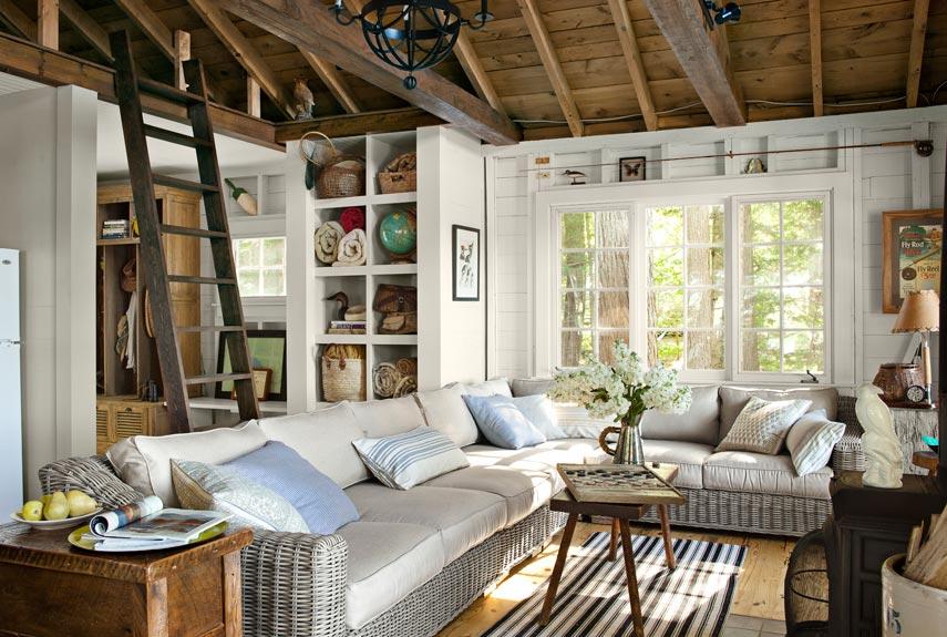 adelaparvu.com despre casa de 46 mp pe malul lacului, arhitect Jeremy Bonin, casa SUA, Foto Max Kim-Bee (2)