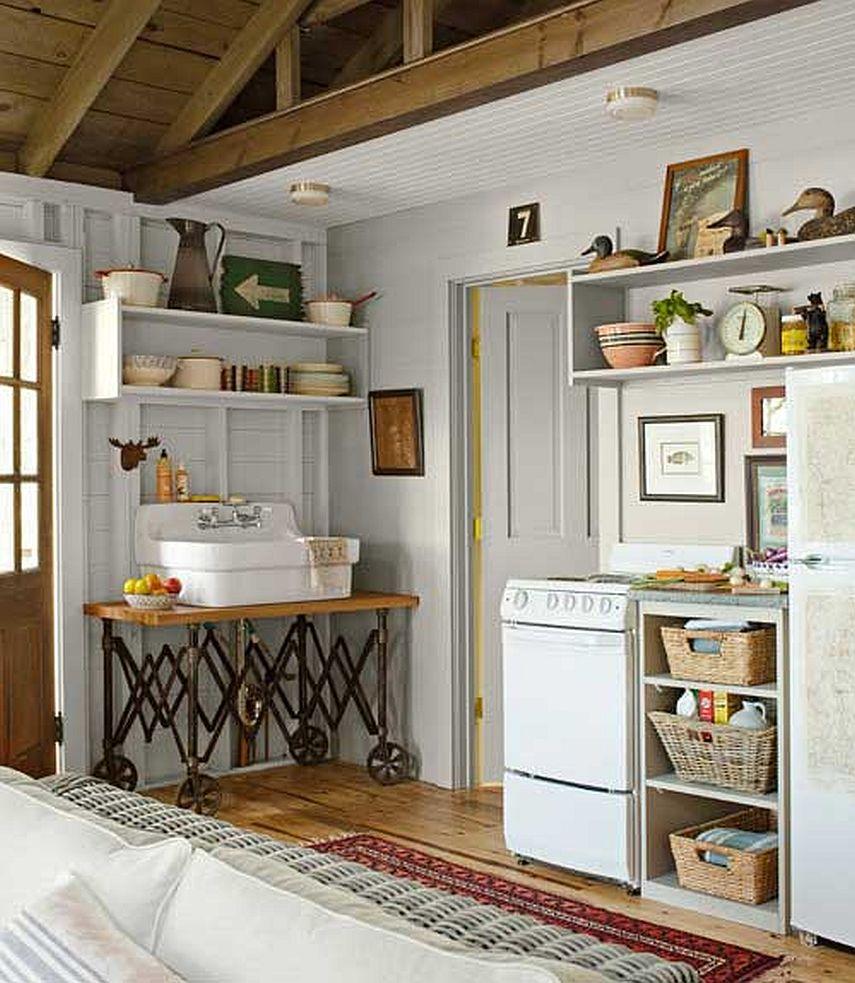 adelaparvu.com despre casa de 46 mp pe malul lacului, arhitect Jeremy Bonin, casa SUA, Foto Max Kim-Bee (4)