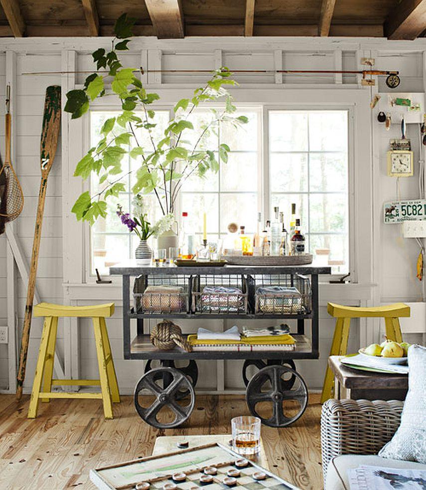 adelaparvu.com despre casa de 46 mp pe malul lacului, arhitect Jeremy Bonin, casa SUA, Foto Max Kim-Bee (5)