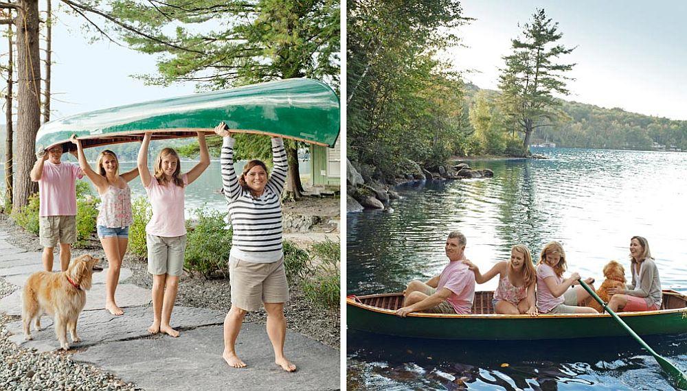 adelaparvu.com despre casa de 46 mp pe malul lacului, arhitect Jeremy Bonin, casa SUA