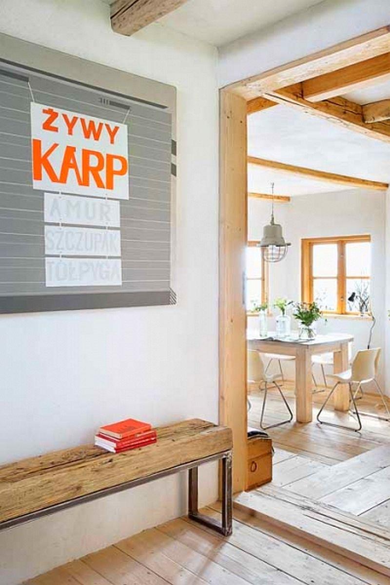 adelaparvu.com despre casa din lemn renovata, Willa Bajka Lanckorona, Polonia, design interior Joa si Arthur Trojanowscy  (16)