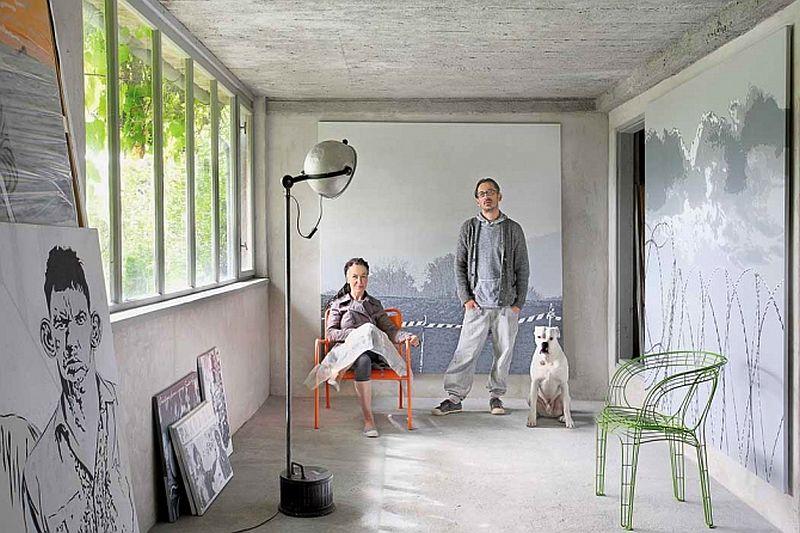 adelaparvu.com despre casa din lemn renovata, Willa Bajka Lanckorona, Polonia, design interior Joa si Arthur Trojanowscy  (22)