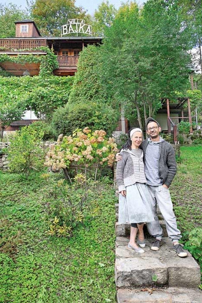 adelaparvu.com despre casa din lemn renovata, Willa Bajka Lanckorona, Polonia, design interior Joa si Arthur Trojanowscy  (6)