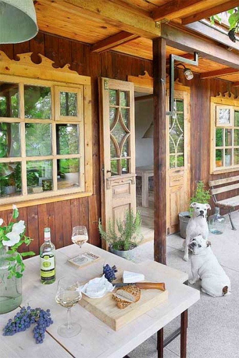 adelaparvu.com despre casa din lemn renovata, Willa Bajka Lanckorona, Polonia, design interior Joa si Arthur Trojanowscy  (8)