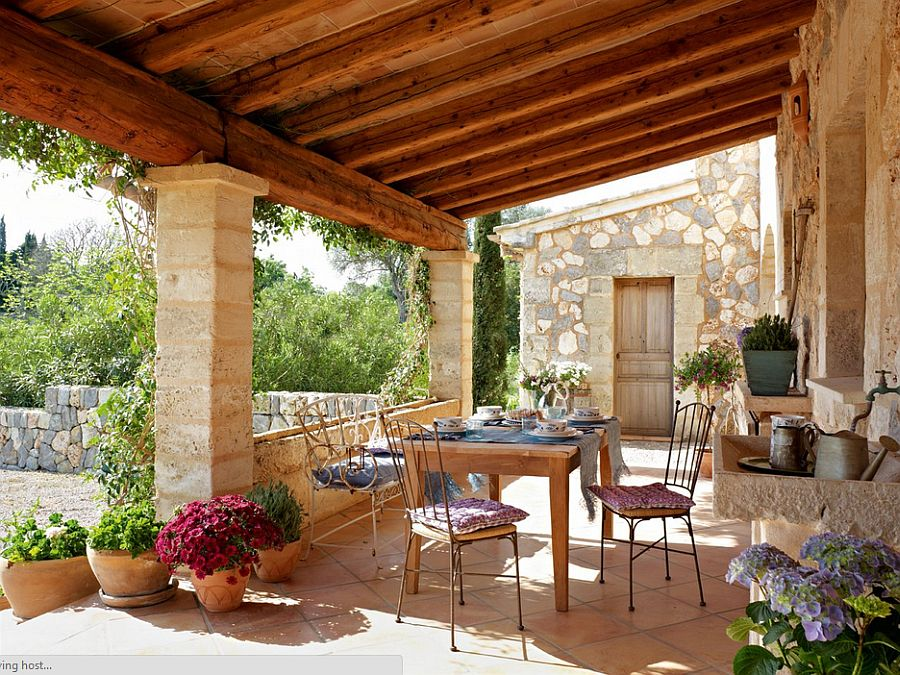 adelaparvu.com despre casa din piatra Spania, casa de vacanta din piatra Mallorca, arhitect Jaume March  (3)
