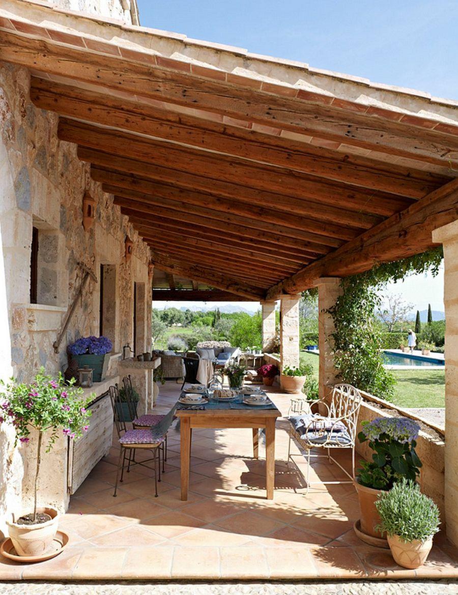 adelaparvu.com despre casa din piatra Spania, casa de vacanta din piatra Mallorca, arhitect Jaume March  (4)