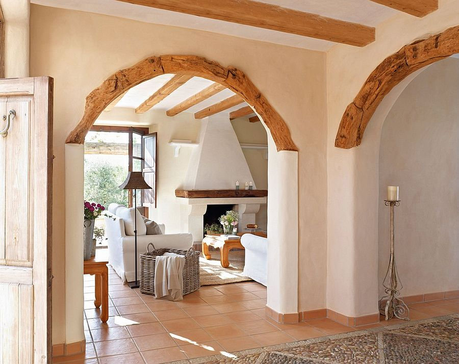 9 modern and beautiful hall arch designs for home styles for Arch design for living room