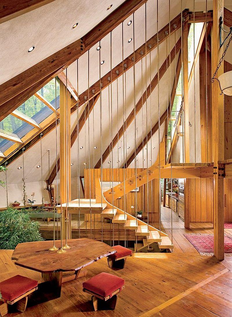 adelaparvu.com despre casa in forma de diamant, casa SUA, arhitect Nancy Copley (1)