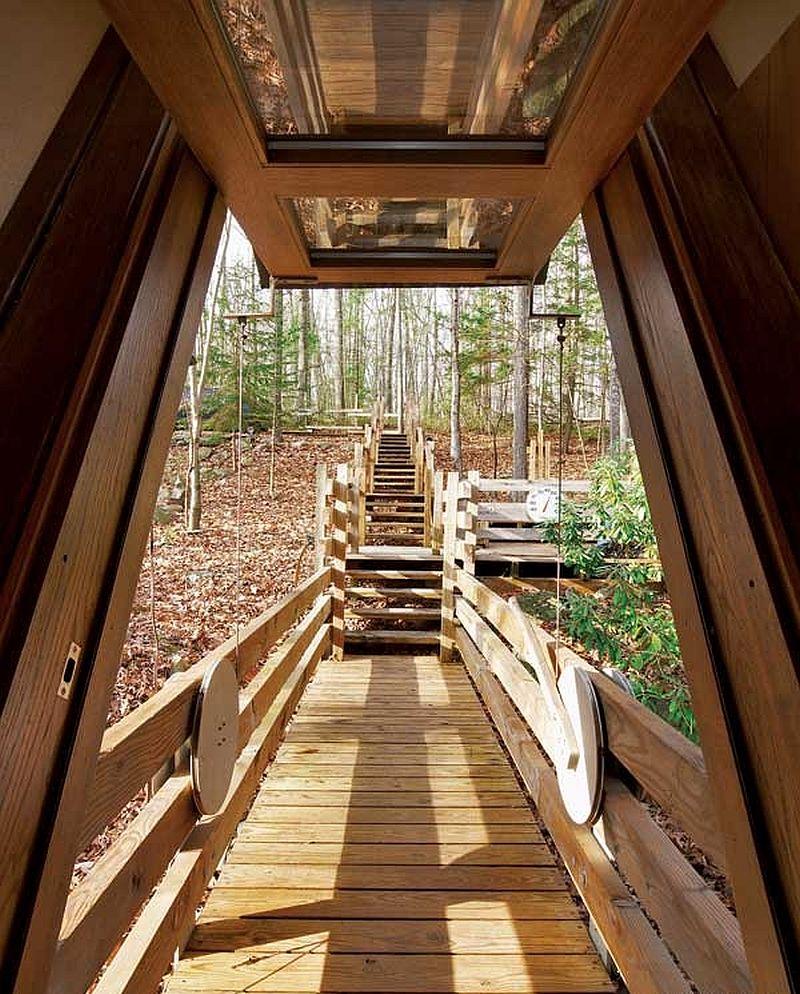 adelaparvu.com despre casa in forma de diamant, casa SUA, arhitect Nancy Copley (11)