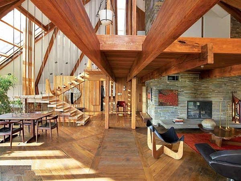 adelaparvu.com despre casa in forma de diamant, casa SUA, arhitect Nancy Copley (14)