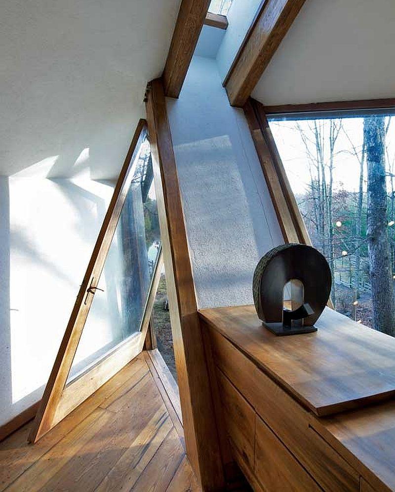 adelaparvu.com despre casa in forma de diamant, casa SUA, arhitect Nancy Copley (16)
