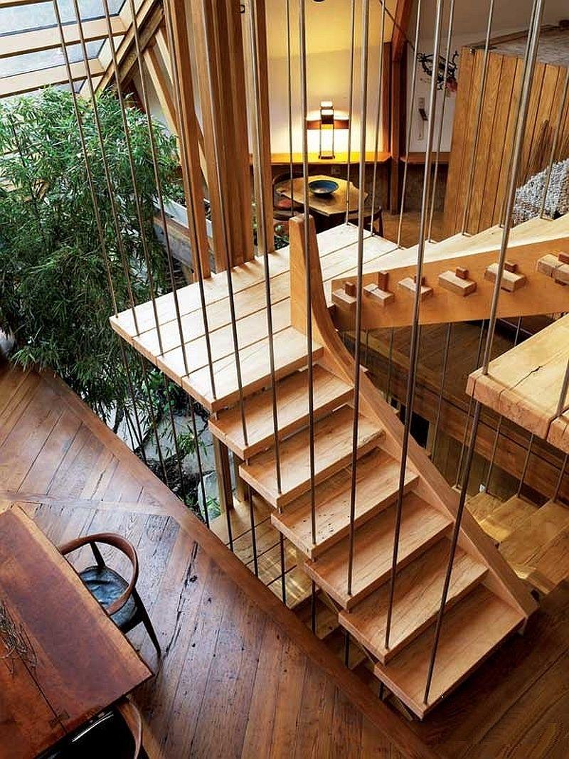 adelaparvu.com despre casa in forma de diamant, casa SUA, arhitect Nancy Copley (18)