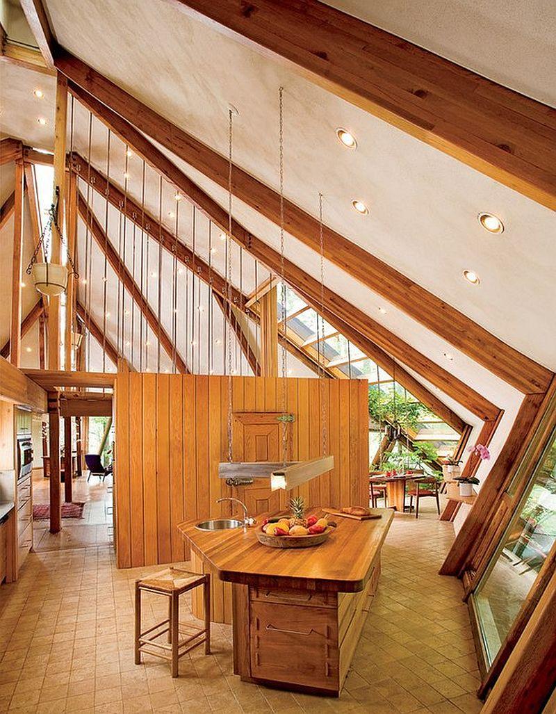 adelaparvu.com despre casa in forma de diamant, casa SUA, arhitect Nancy Copley (19)