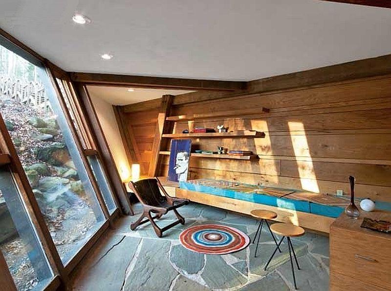 adelaparvu.com despre casa in forma de diamant, casa SUA, arhitect Nancy Copley (2)