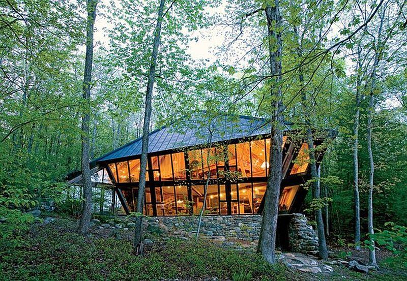 adelaparvu.com despre casa in forma de diamant, casa SUA, arhitect Nancy Copley (20)