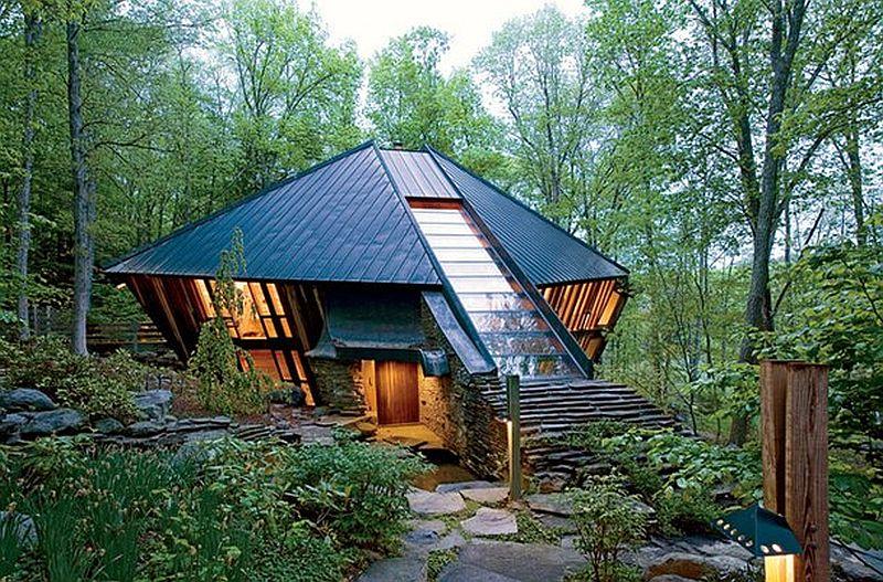 adelaparvu.com despre casa in forma de diamant, casa SUA, arhitect Nancy Copley (21)