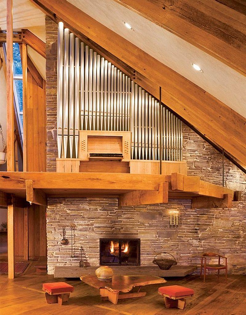 adelaparvu.com despre casa in forma de diamant, casa SUA, arhitect Nancy Copley (4)