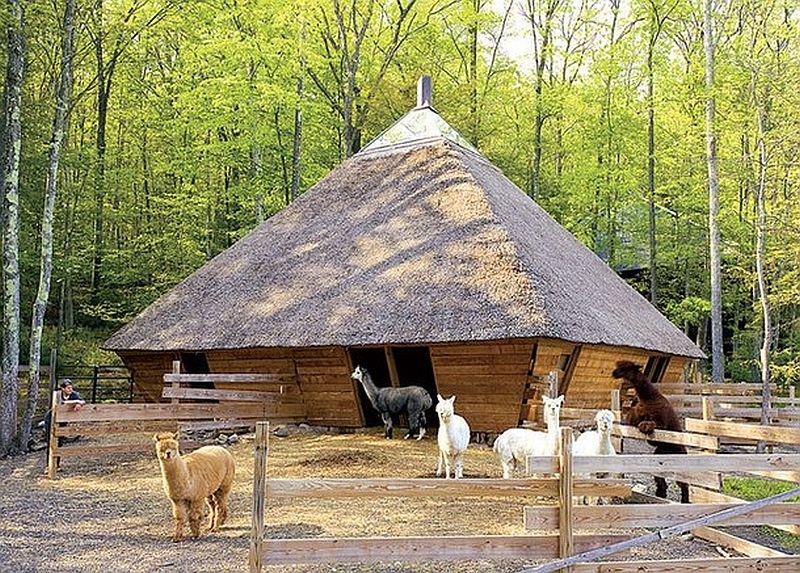 adelaparvu.com despre casa in forma de diamant, casa SUA, arhitect Nancy Copley (5)