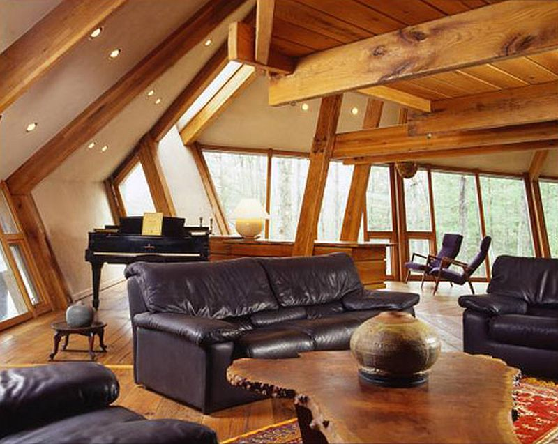 adelaparvu.com despre casa in forma de diamant, casa SUA, arhitect Nancy Copley (6)