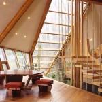 adelaparvu.com despre casa in forma de diamant, casa SUA, arhitect Nancy Copley (7)