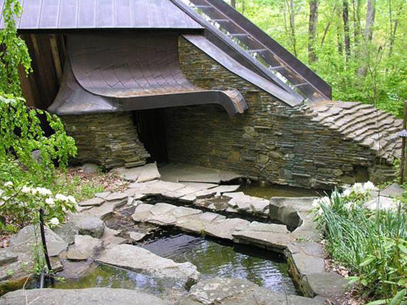 adelaparvu.com despre casa in forma de diamant, casa SUA, arhitect Nancy Copley (8)