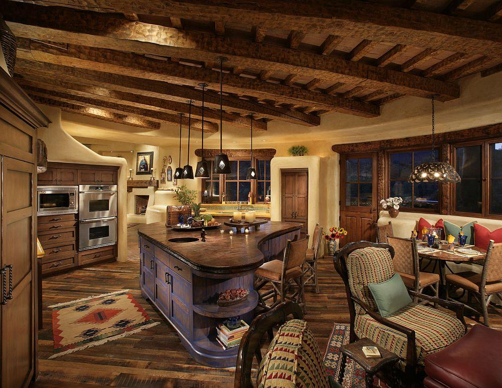 adelaparvu.com despre casa in stil mexican, casa organica SUA, arhitectura UDA, design interior Paula Den Boer  (13)