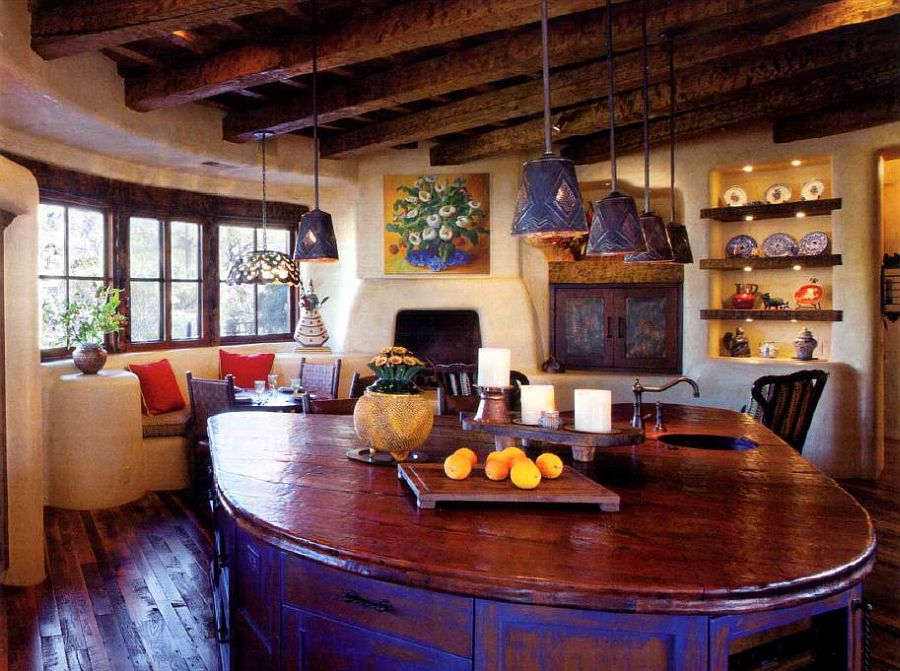 adelaparvu.com despre casa in stil mexican, casa organica SUA, arhitectura UDA, design interior Paula Den Boer  (7)