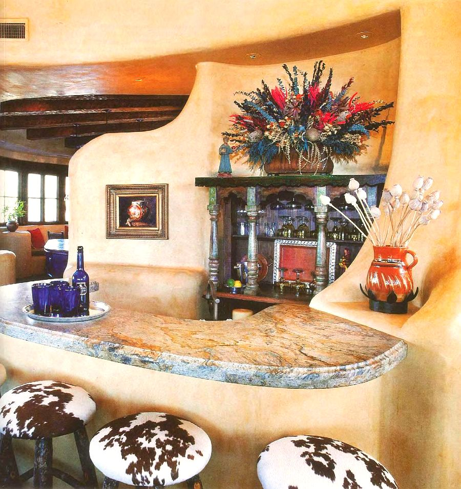adelaparvu.com despre casa in stil mexican, casa organica SUA, arhitectura UDA, design interior Paula Den Boer  (8)