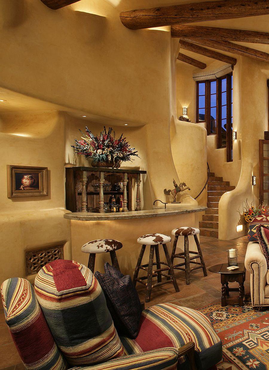 adelaparvu.com despre casa in stil mexican, casa organica SUA, arhitectura UDA, design interior Paula Den Boer