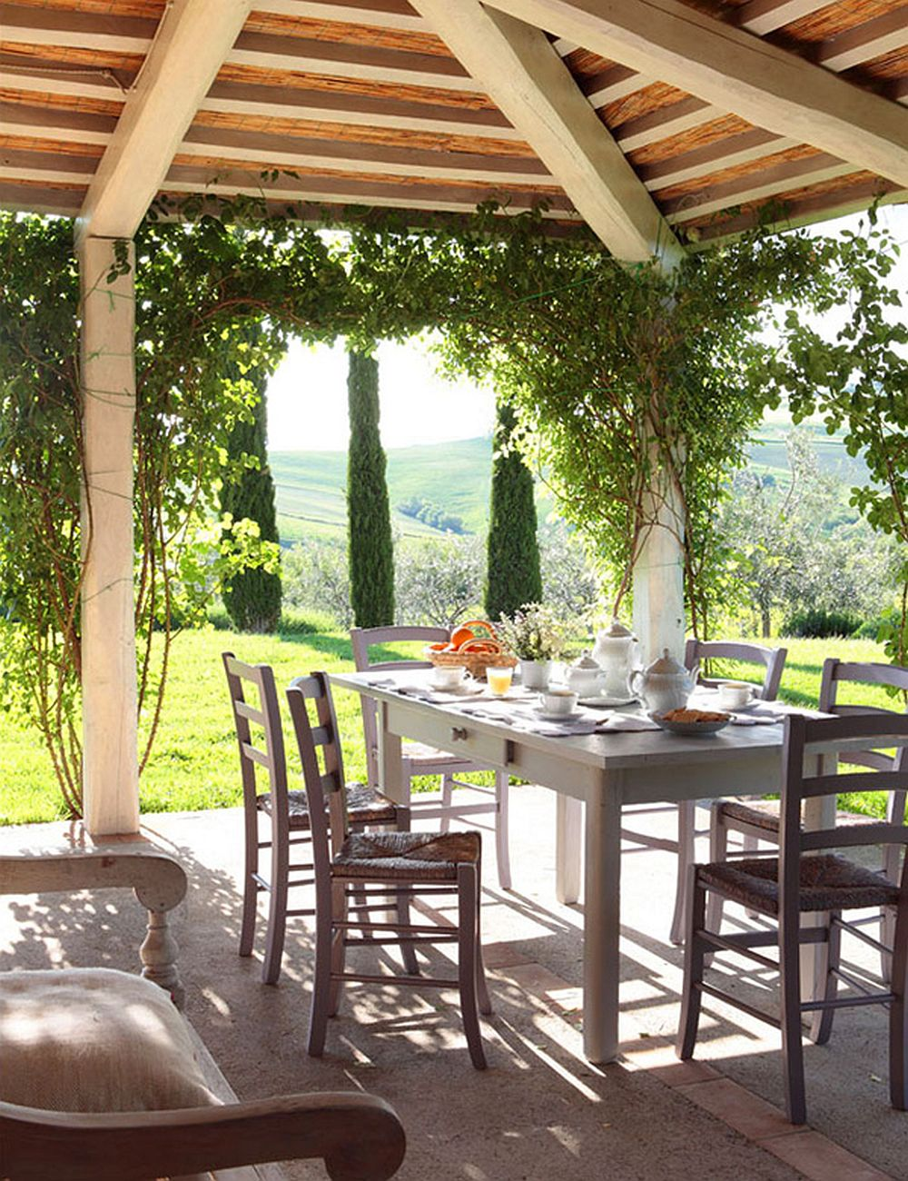 adelaparvu.com despre casa in stil toscan, casa Italia, Foto Enrique Menossi (13)