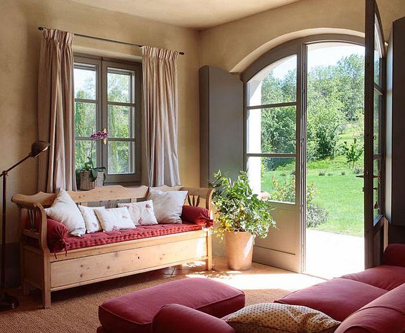 Pur i simplu de bun gust decorul acestei case n stil for Muebles la toskana
