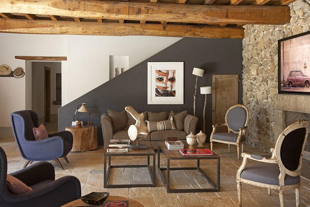 adelaparvu.com despre casa in stil toscan, casa rustic moderna, design Claudia Claudia Pelizzari (15)